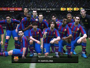 FC Barcelona PES 2010