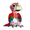Greenwingedmacawbaby