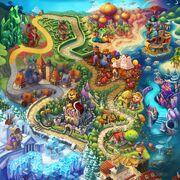 World 6 map
