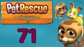 Pet Rescue Saga 🐶 Level 71 Extra hard - 3 Stars Walkthrough, No Boosters