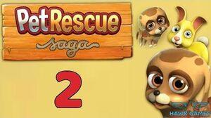 Pet Rescue Saga Level 2 - 3 Stars Walkthrough, No Boosters