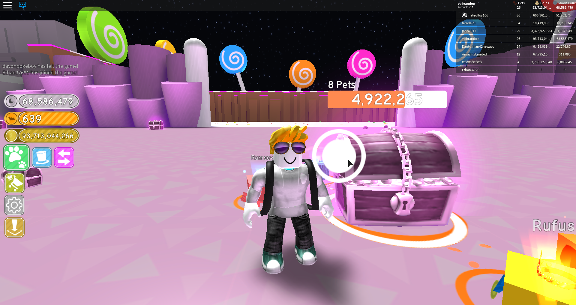 Gameplay Tips Pet Simulator Wiki Fandom Powered By Wikia - best player in roblox pet simulator