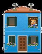 Animated Venetian Blue House