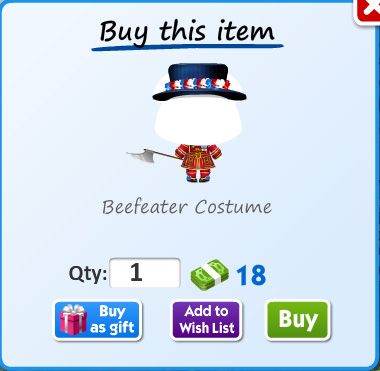 Beefeater costume