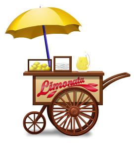 Lemonade vendor cart
