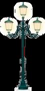 Forged Iron Street Lamp