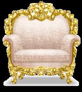 European Rococo Sofa