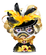 Venetian Lady Mini Buddy