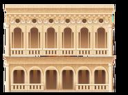 Classic Venetian Building Decal 1