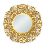 Gold Italian Rococo Mirror