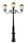 Venetian Street Lamp Decal