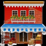 Venetian Grocery Store Decal