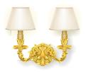 Gold Rococo Wall Lamp
