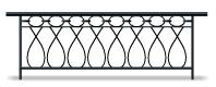 Venetian wrought iron bannister