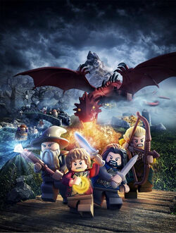 Lego The Hobbit video game poster