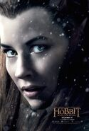 TBOTFA Tauriel Poster