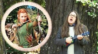 Who The 'Ell Is Tauriel? Hobbit comedy spoof song. Deconstruction of The Desolation of Smaug. Funny!