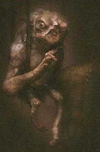 Goblin scribe artwork