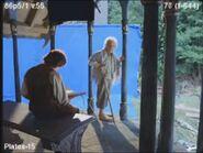Bilbo and Frodo BTS