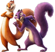 Andie and Surly In The Nut Job 2