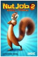 The Nut Job 2 Poster Andie