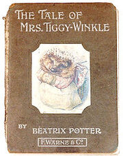 200px-The Tale of Mrs Tiggy-Winkle first edition cover