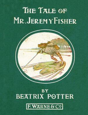 Beatrix Potter Jeremy Fisher Cover2