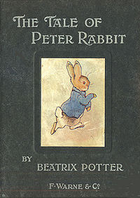 200px-Peter Rabbit first edition 1902a-1