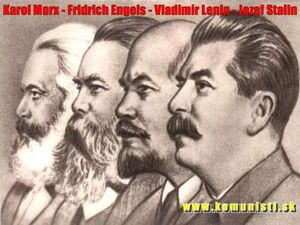 Karl-Marx-Friedrich-Engels-Vladimir-Lenin-Joseph-Stalin