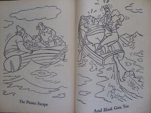 Vintage-Peter-Pan-Coloring-Book-Whitman-2186-1952-Dick-Moores-art- 57