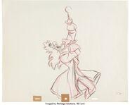 Peter Pan Captain Hook Animation Drawing