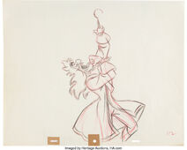 Peter Pan Captain Hook Animation Drawing