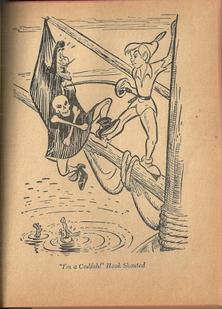 Peter pan vintage book i'm a codfish