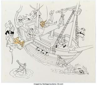 Peter Pan Book Illustrations Group 2