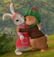 Benjamin hugging Lily II