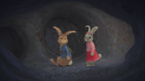Peter and Lily lost in the tunnel