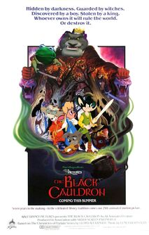 Pete'sDragon Animal Style (TheBlack Cauldron)