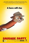 Sausage Party (Pete'sDragonRockz Style) Poster