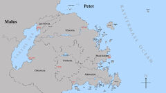 Map of Petet