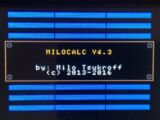 MILOCALC spreadsheet program