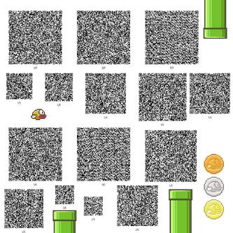 Flappy Bird QR