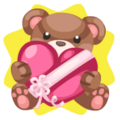 Valentine Small Bear