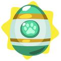 Aquamarine easter egg
