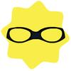 Burglar black goggles