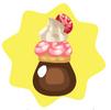 Sweet cake potion