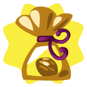 Golden chocolate apple tree seed