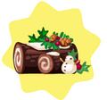 Festive Yule Log