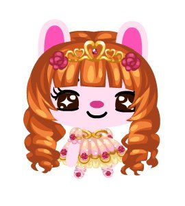 Curly Princess Wig Pet Society Wiki FANDOM powered by