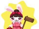 Mochi Making Bunny