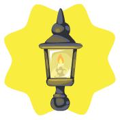 Shire wall lamp